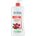 St Ives Intensive Healing Body Lotion CRANBERRY SEED&GRAPE SEED OIL